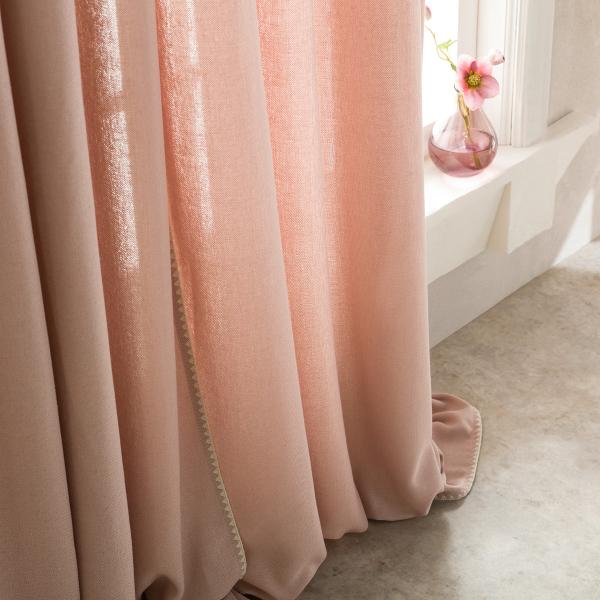 Κουρτίνα (140x280) Με Τρέσα Gofis Home Punto Pink 436/17