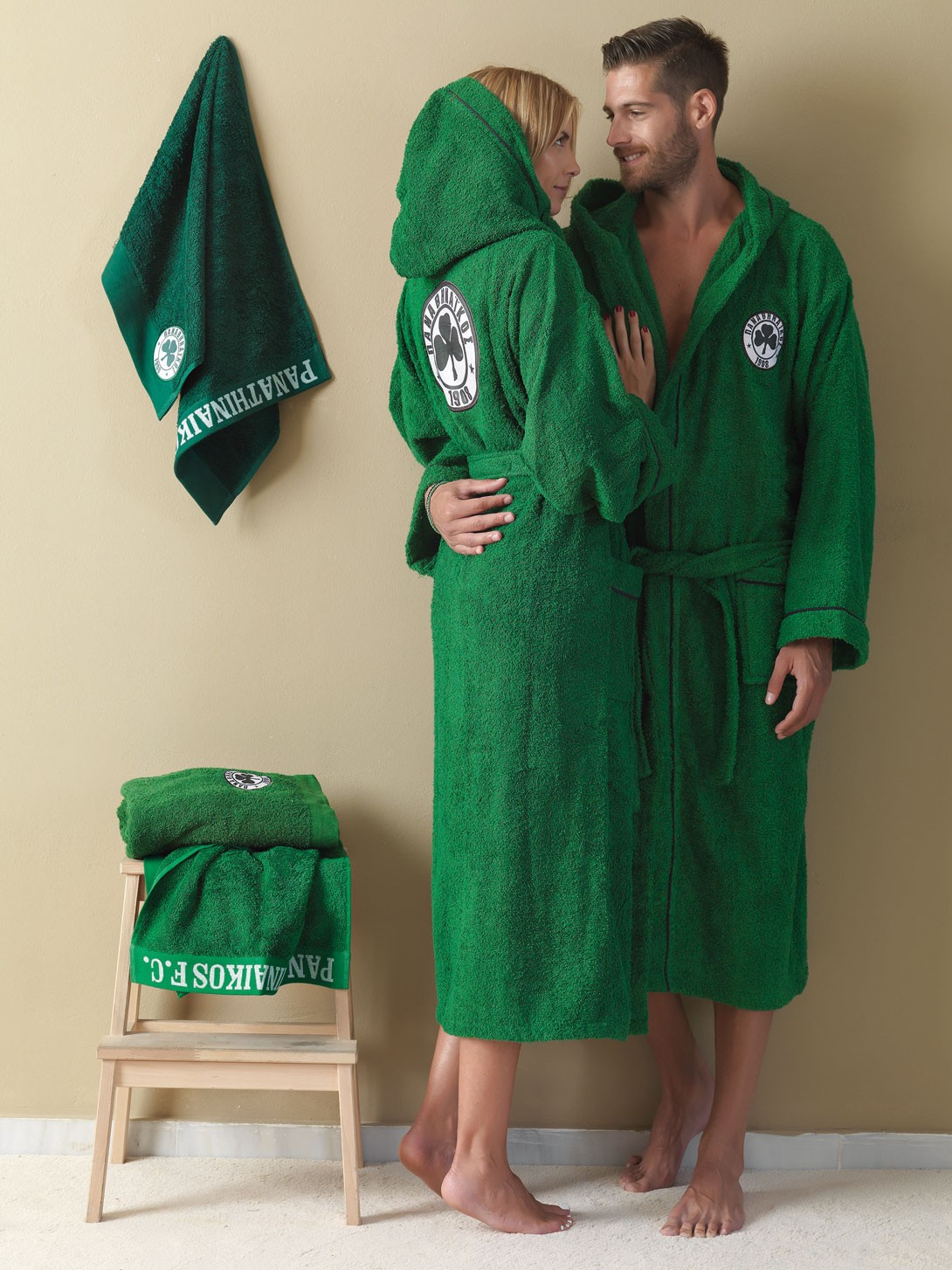 Μπουρνούζι Palamaiki Panathinaikos 1908 Adults XL XL