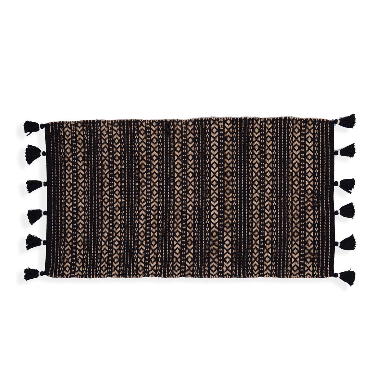 Χαλί Διαδρόμου (65×130) Nef-Nef Depay Natural/Black