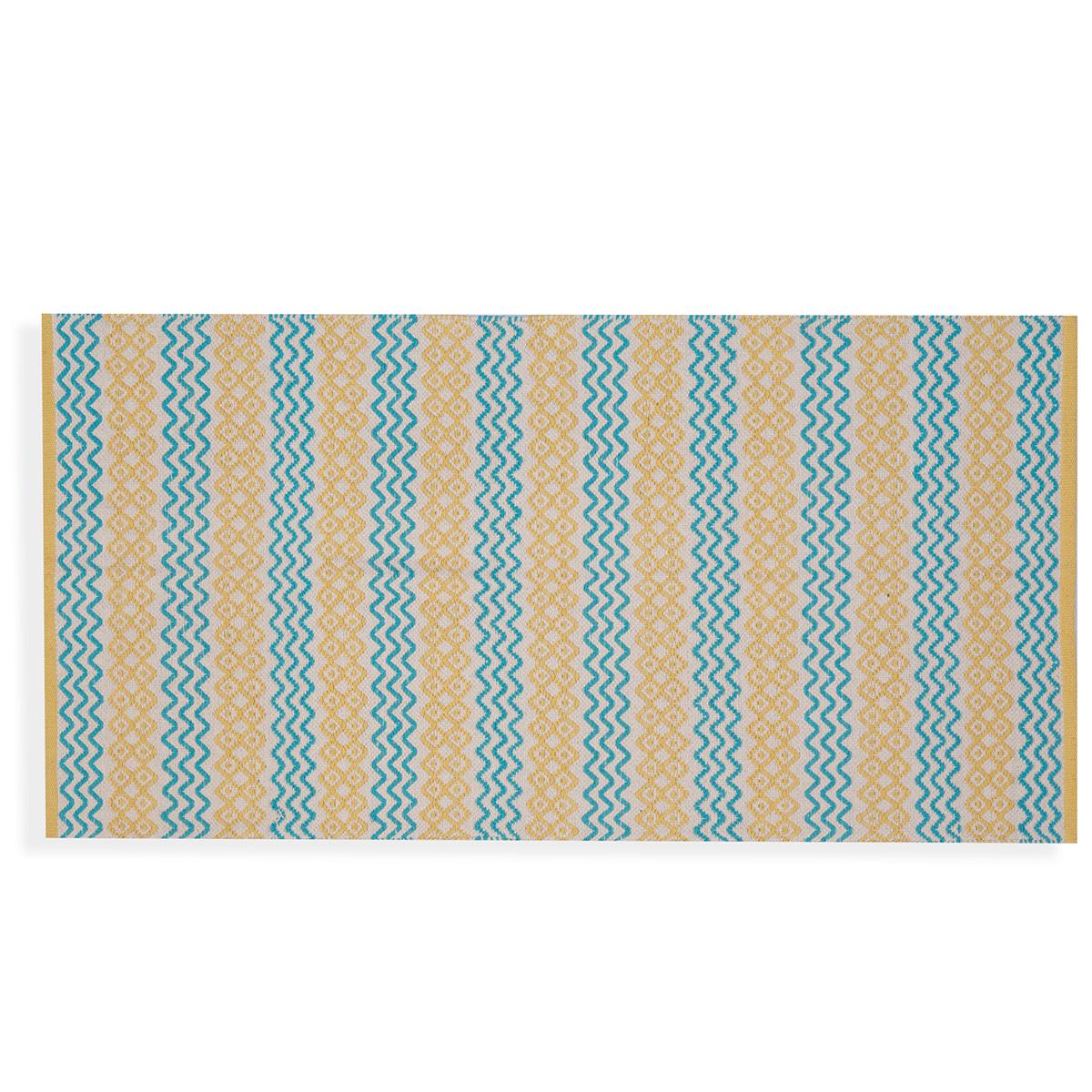 Χαλί Διαδρόμου (70×140) Nef-Nef Persea Yellow/Aqua
