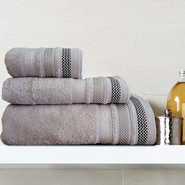 Πετσέτες Προσώπου (Σετ 2τμχ) Sb Home Valeria