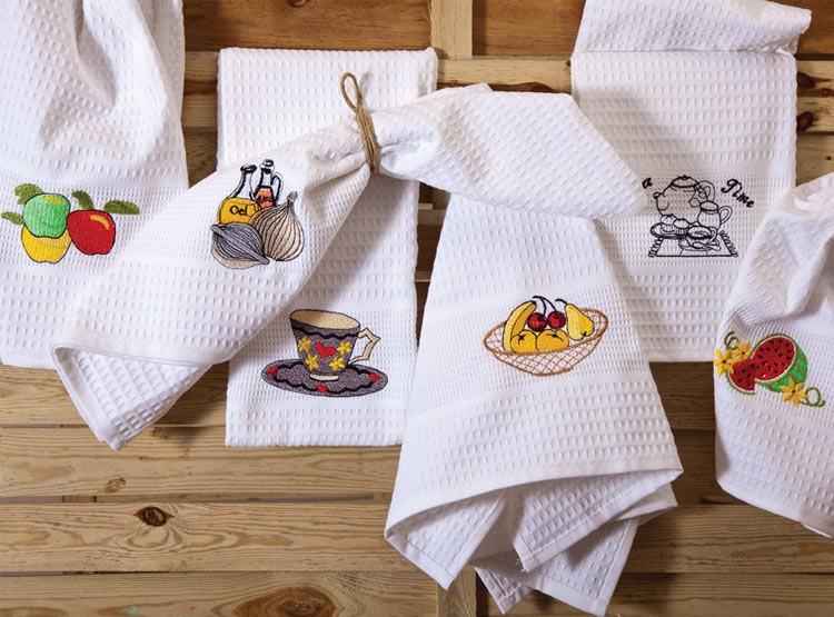 Ποτηρόπανα (Σετ 6τμχ) Palamaiki Kitchen Towels 2