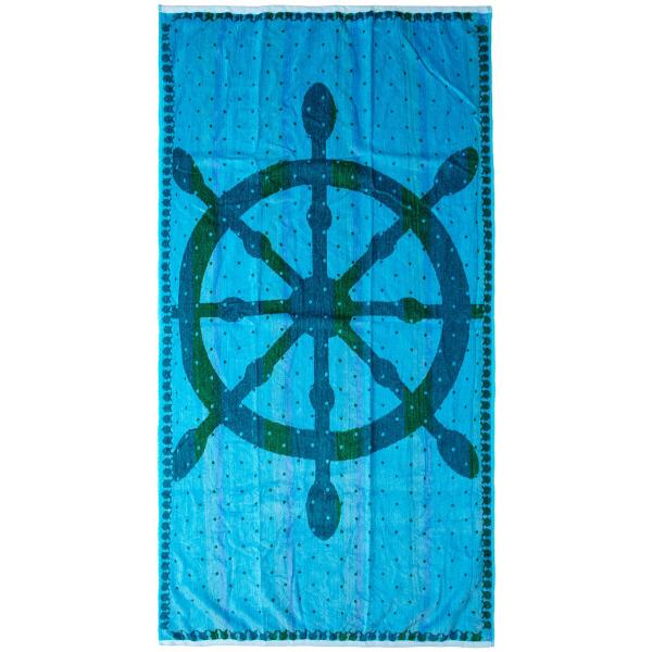 Πετσέτα Θαλάσσης Dimcol Sail Sky Blue 116