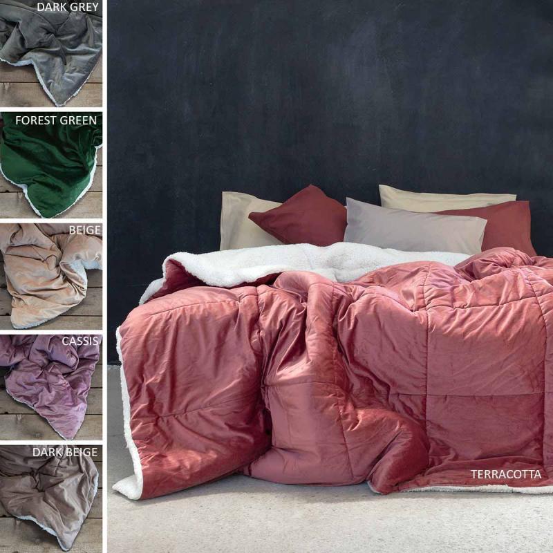 Κουβερτοπάπλωμα Μονό Nima Bed Linen Nuan