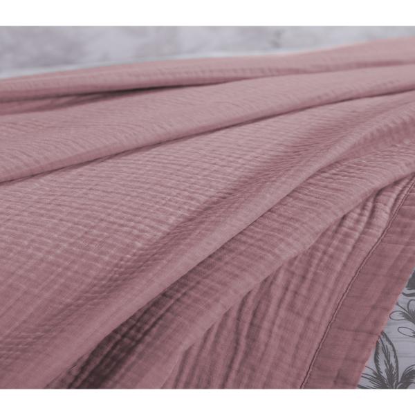 Κουβερτόριο Υπέρδιπλο Nef-Nef Blue Collection Summer Time Pink