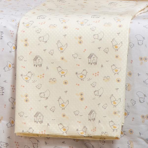 Κουβέρτα Πικέ Κούνιας Nef-Nef Lovely Family
