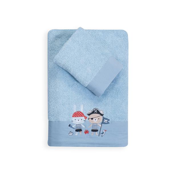 Βρεφικές Πετσέτες (Σετ 2τμχ) Nef-Nef All Aboard