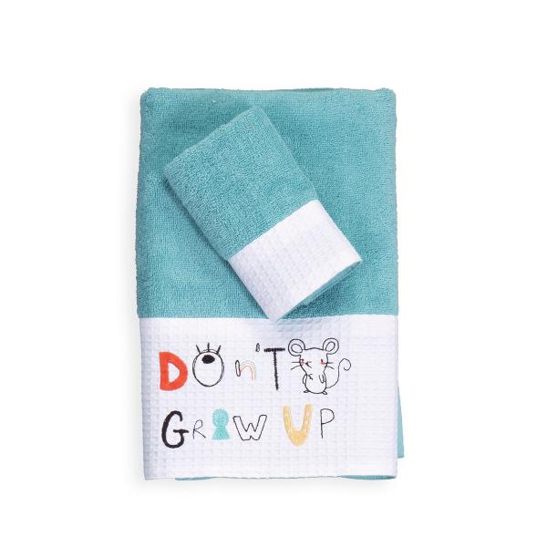 Βρεφικές Πετσέτες (Σετ 2τμχ) Nef-Nef Don't Grow Up