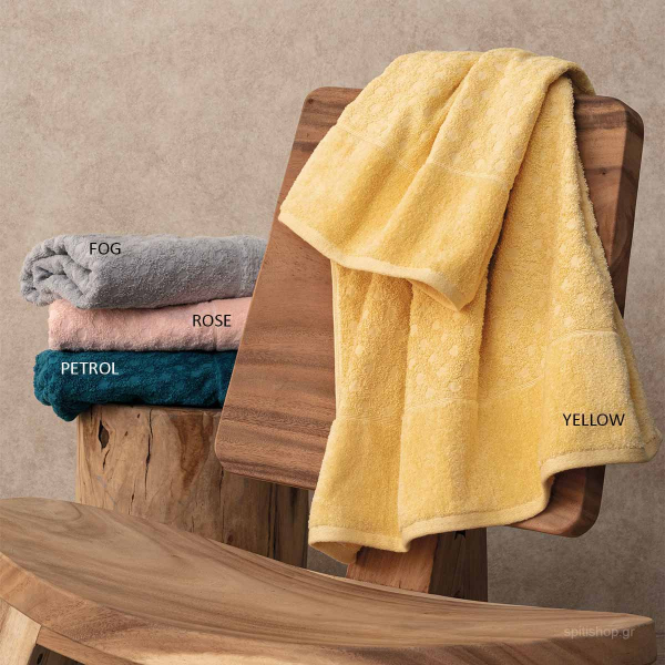 Πετσέτες Μπάνιου (Σετ 3τμχ) Palamaiki Towels Erin
