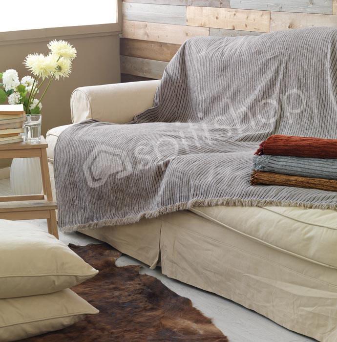 Ριχτάρι Τριθέσιου (180x280) Palamaiki Cotle Grey
