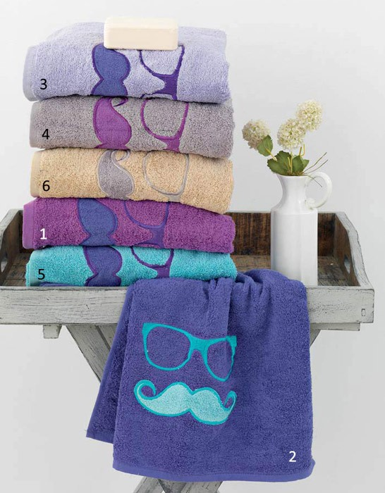 Πετσέτες Μπάνιου (Σετ 3τμχ) Palamaiki Hipster