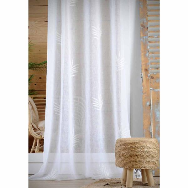 Κουρτίνα (140x260) Με Τρουκς S-F Sophora Blanc R6B214004VL