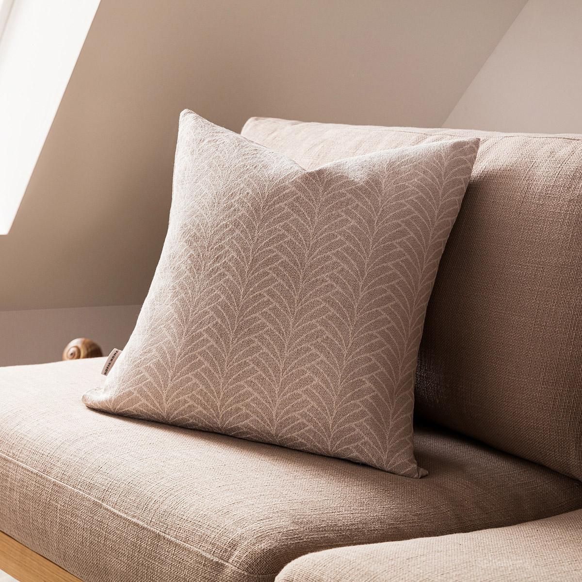 Διακοσμητική Μαξιλαροθήκη (50×50) Gofis Home Seashell Beige 223/06
