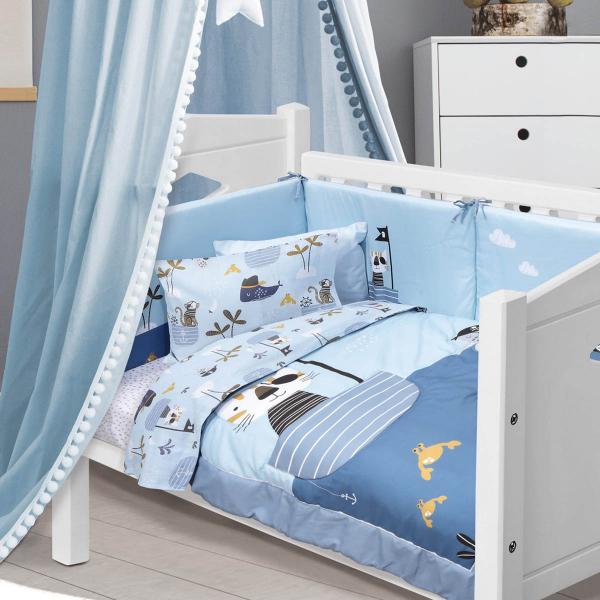 Κουβερλί Κούνιας Das Home Baby Fun Line 4748