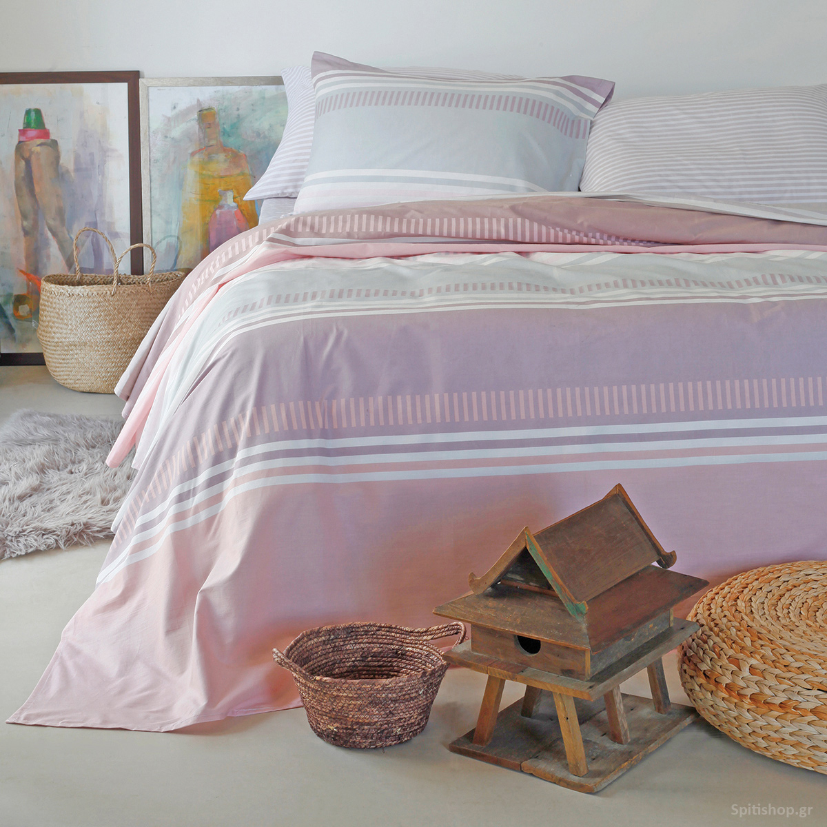 Παπλωματοθήκη Διπλή Melinen Ultra Blogger Pink