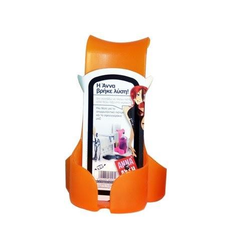 Θήκη Για Απορρυπαντικό Και Σφουγγάρι Άννα Λύση Orange 44263