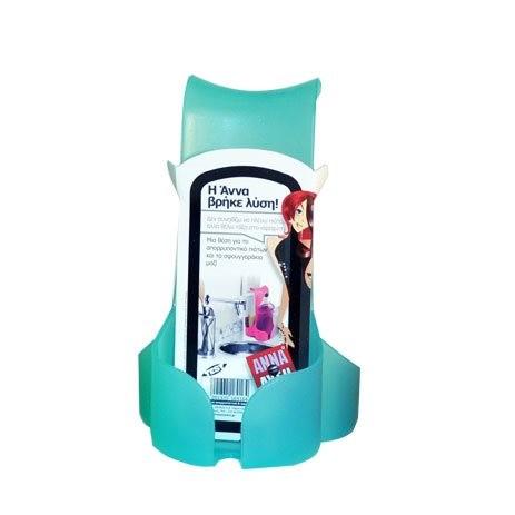 Θήκη Για Απορρυπαντικό Και Σφουγγάρι Άννα Λύση Turquoise
