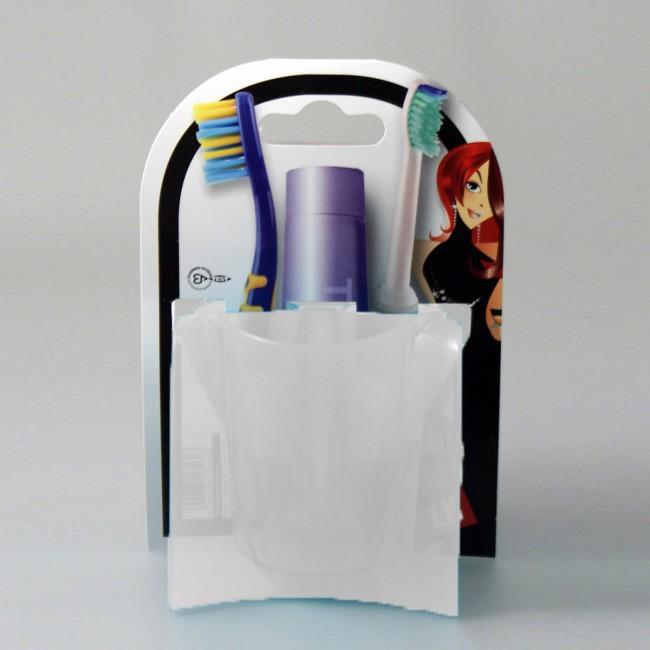 Θήκη Μπάνιου 3 θέσεων Άννα Λύση White