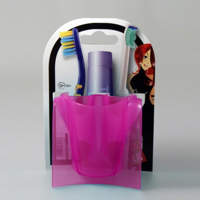 Θήκη Μπάνιου 3 θέσεων Άννα Λύση Fuchsia