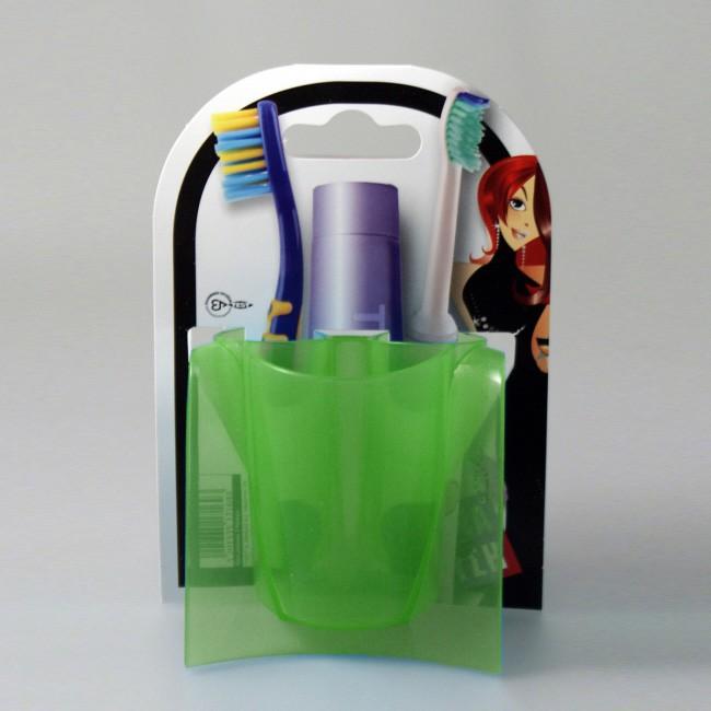 Θήκη Μπάνιου 3 θέσεων Άννα Λύση Green