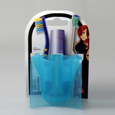 Θήκη Μπάνιου 3 θέσεων Άννα Λύση Turquoise