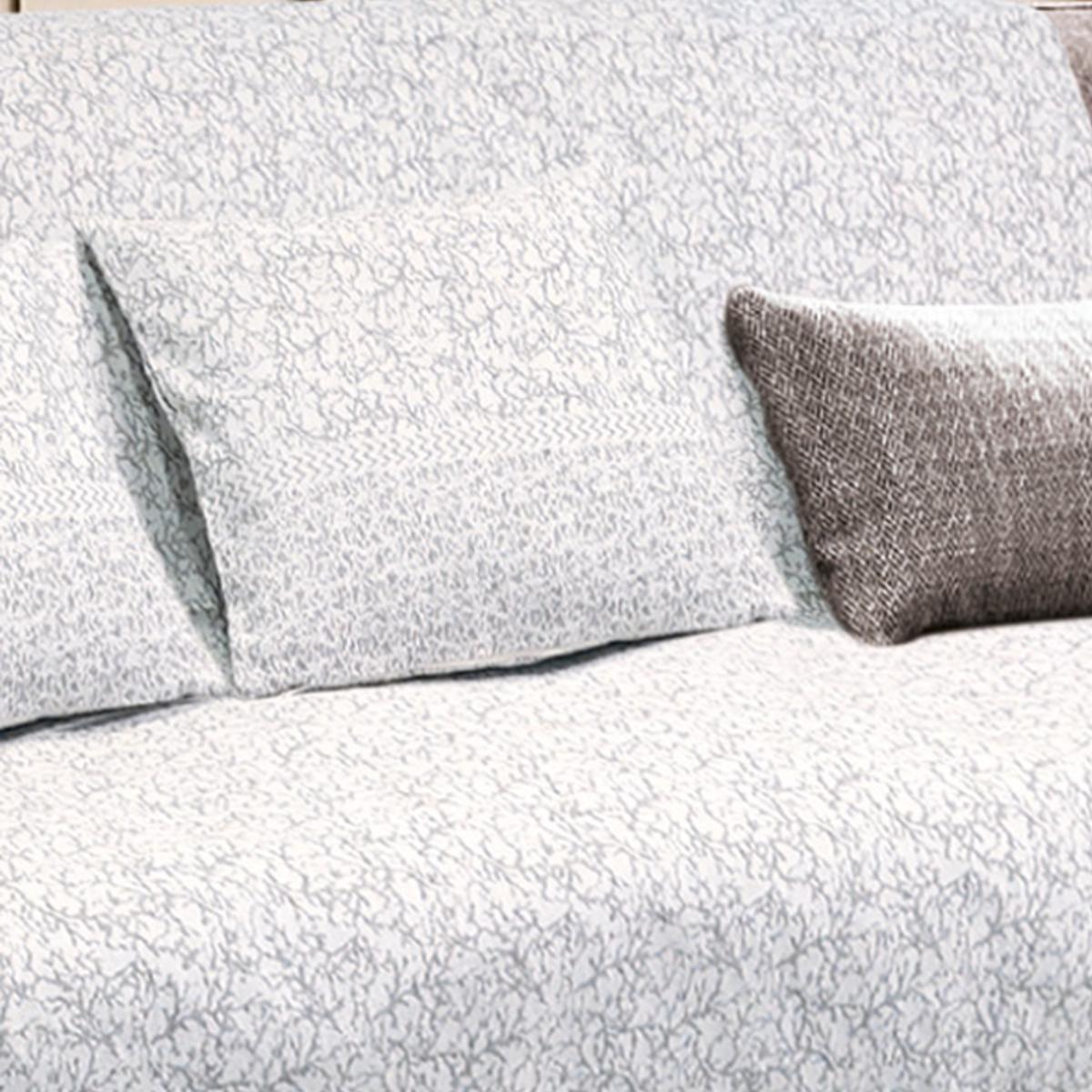 Διακοσμητική Μαξιλαροθήκη (40×40) Sb Home Marion Silver