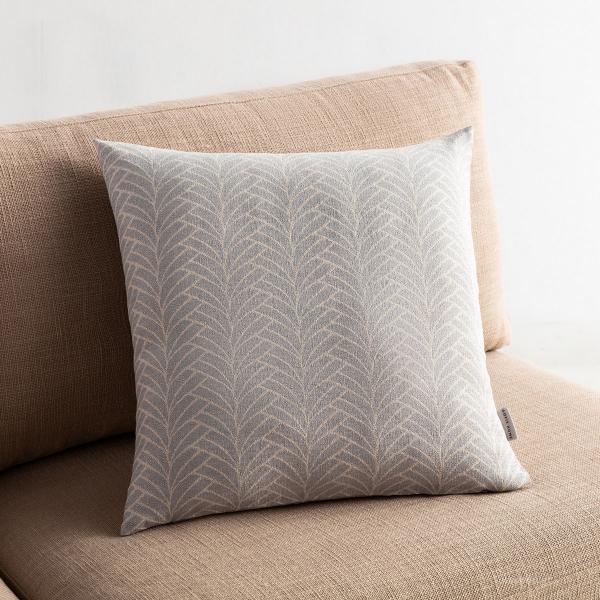 Διακοσμητική Μαξιλαροθήκη (50x50) Gofis Home Seashell Grey 223/15