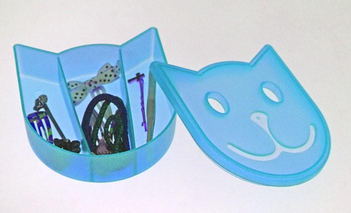 Κουτάκια Τακτοποίησης Άννα Λύση Γατούλα Μπλε 44333