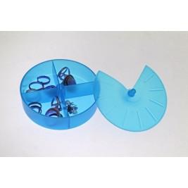 Κουτάκια Τακτοποίησης Άννα Λύση Στρογγυλό Μπλε