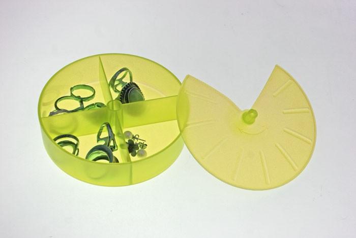 Κουτάκια Τακτοποίησης Άννα Λύση Στρογγυλό Πράσινο