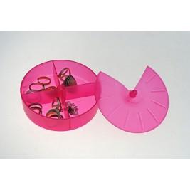 Κουτάκια Τακτοποίησης Άννα Λύση Στρογγυλό Φούξια