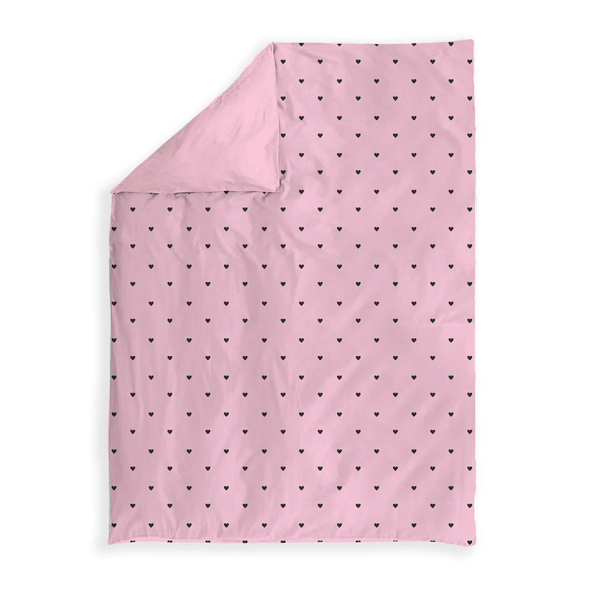 Κουβερλί Ημιδίπλο Nef-Nef Happy Place Pink