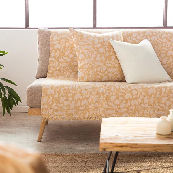 Ριχτάρι Τετραθέσιου (180x350) Gofis Home Simone Mustard 458/04