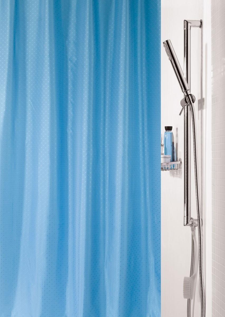 Κουρτίνα Μπάνιου Υφασμάτινη Rainbow Rica 02113 Μπλε