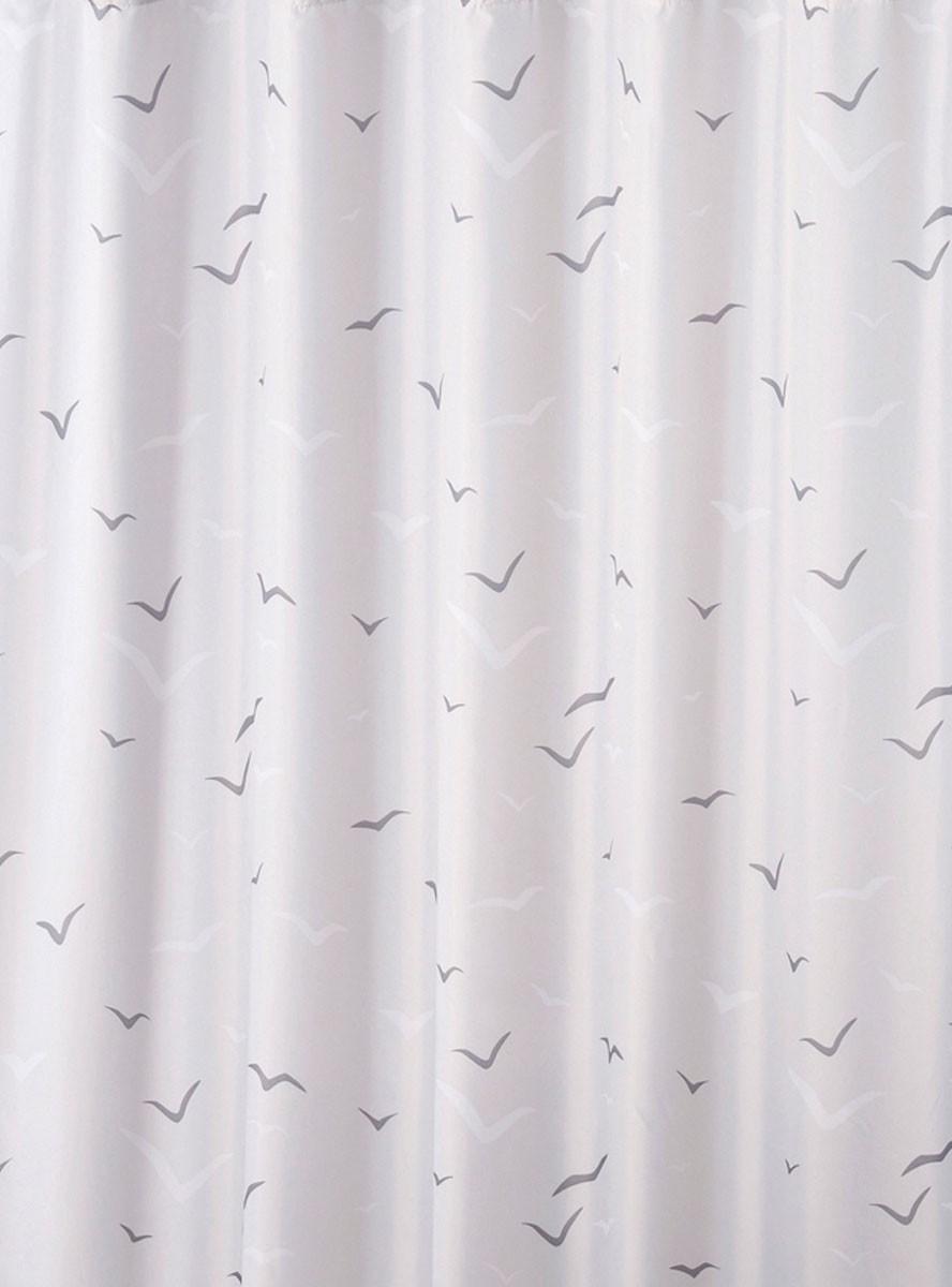 Κουρτίνα Μπάνιου Υφασμάτινη Rainbow Sea Birds 02408