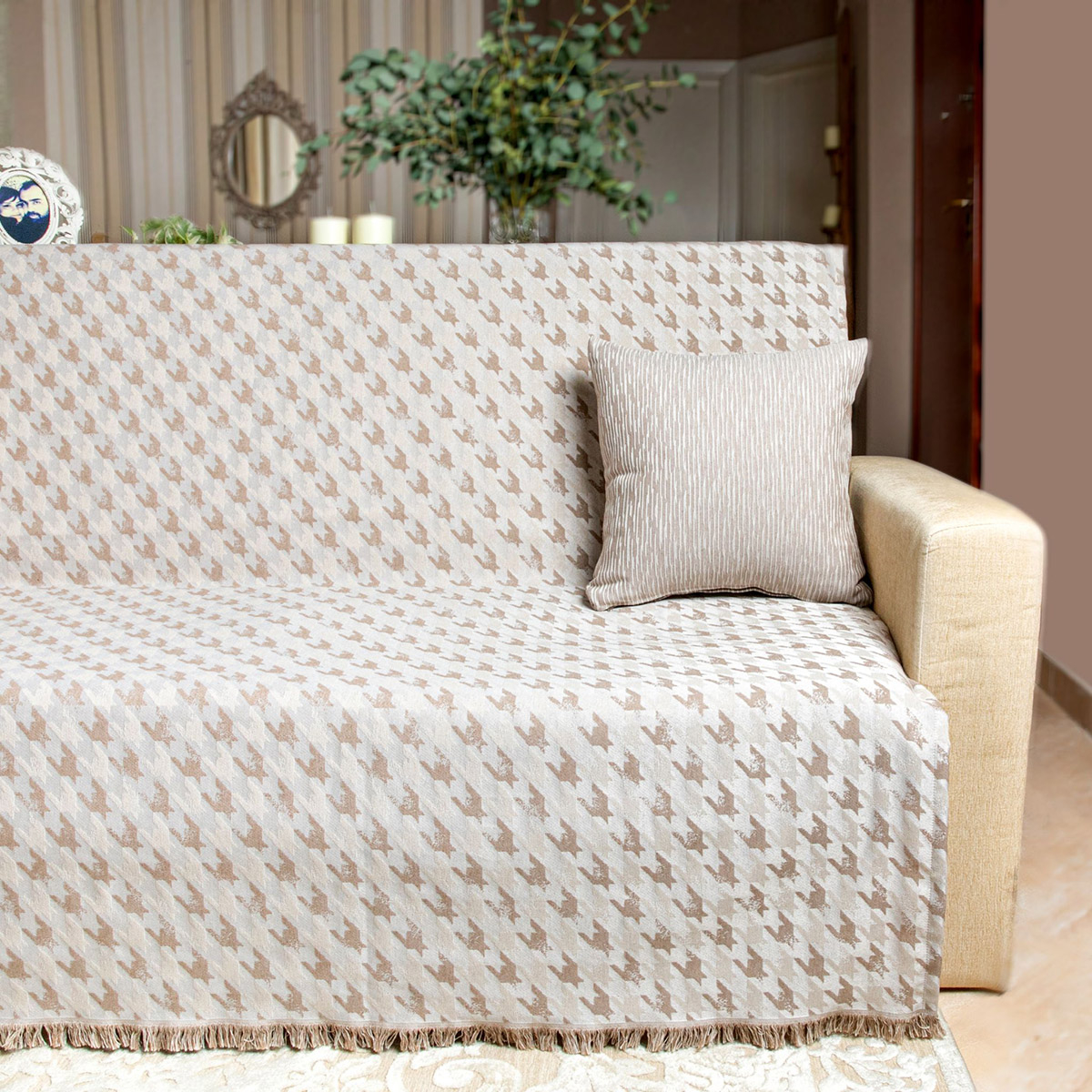 Ριχτάρι Τετραθέσιου (180×350) Loom To Room Agnes Beige