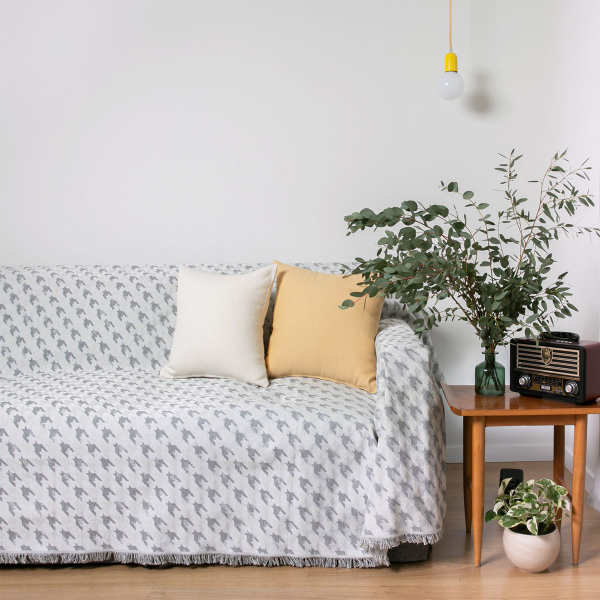 Ριχτάρι Τετραθέσιου (180x350) Loom To Room Agnes Grey