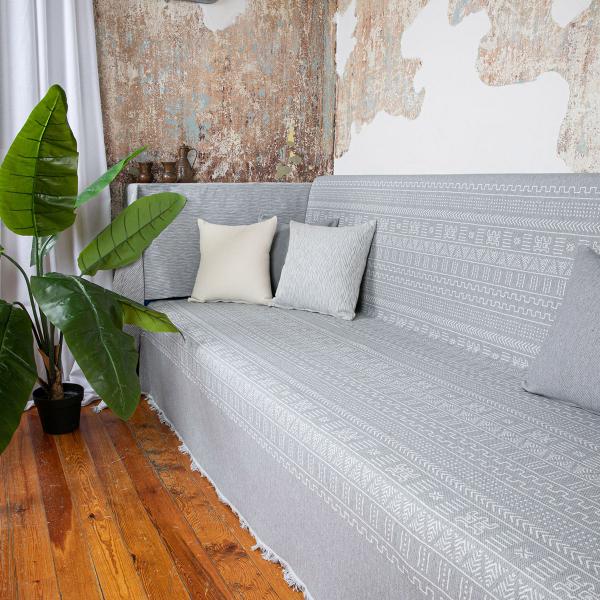 Ριχτάρι Τετραθέσιου (180x350) Loom To Room Kleio Grey