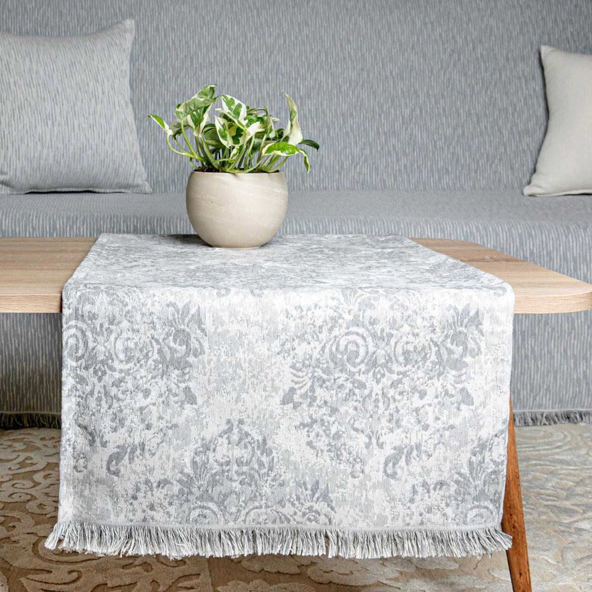 Τραβέρσα Loom To Room Anemoni Grey