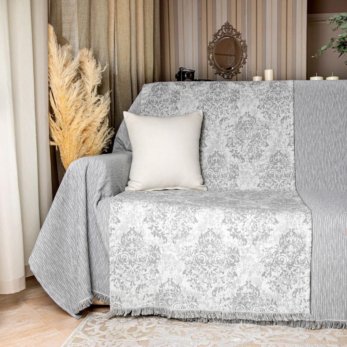 Τραβέρσα Καναπέ Loom To Room Anemoni Grey