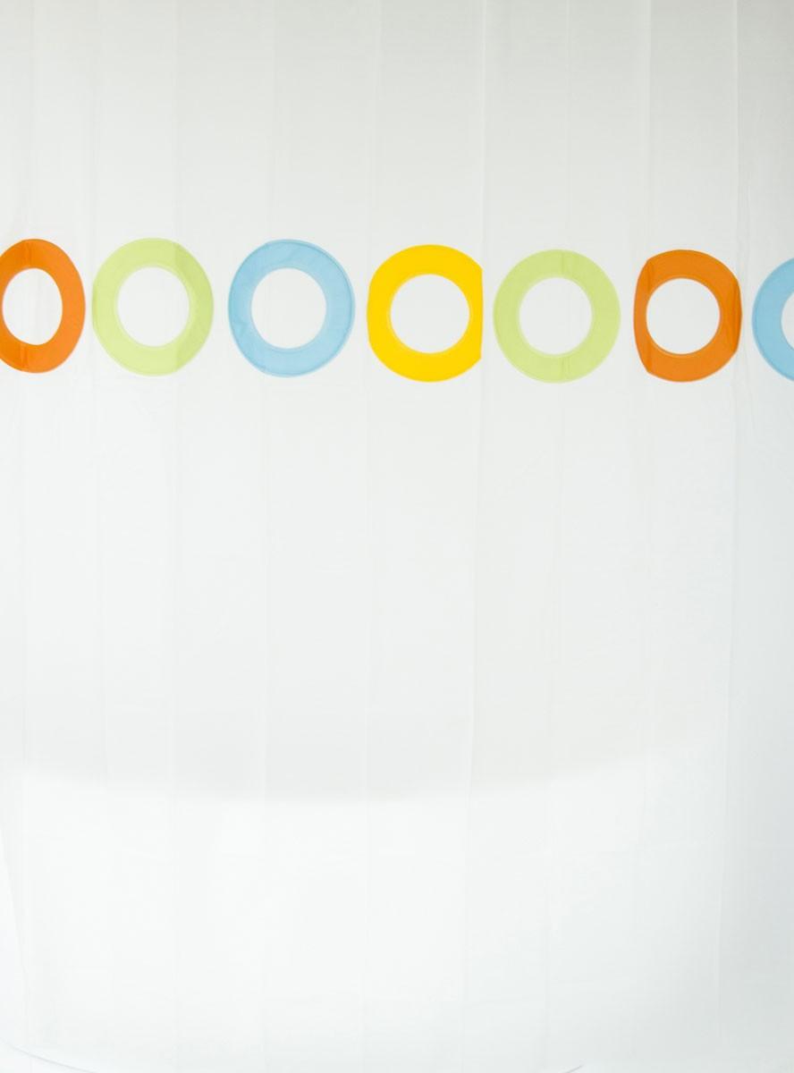 Οικολογική Κουρτίνα Μπάνιου Green Style Circolo 00810X