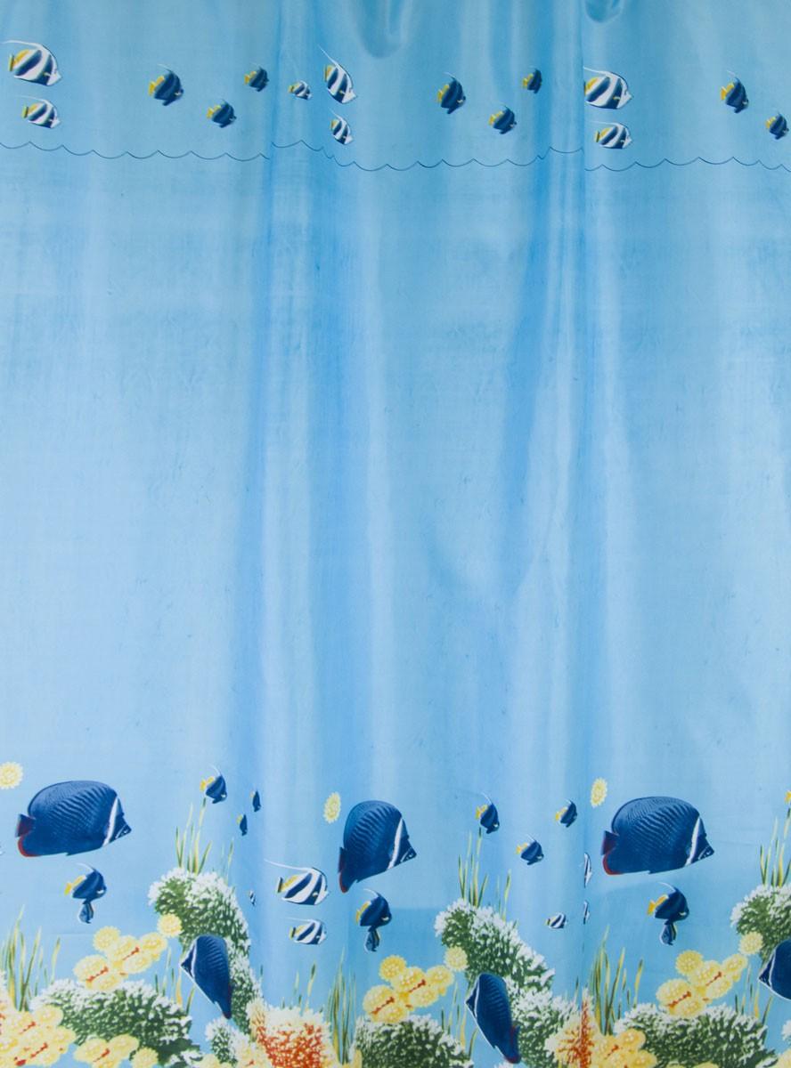 Κουρτίνα Μπάνιου (180x180) Rainbow Thalassa 02431