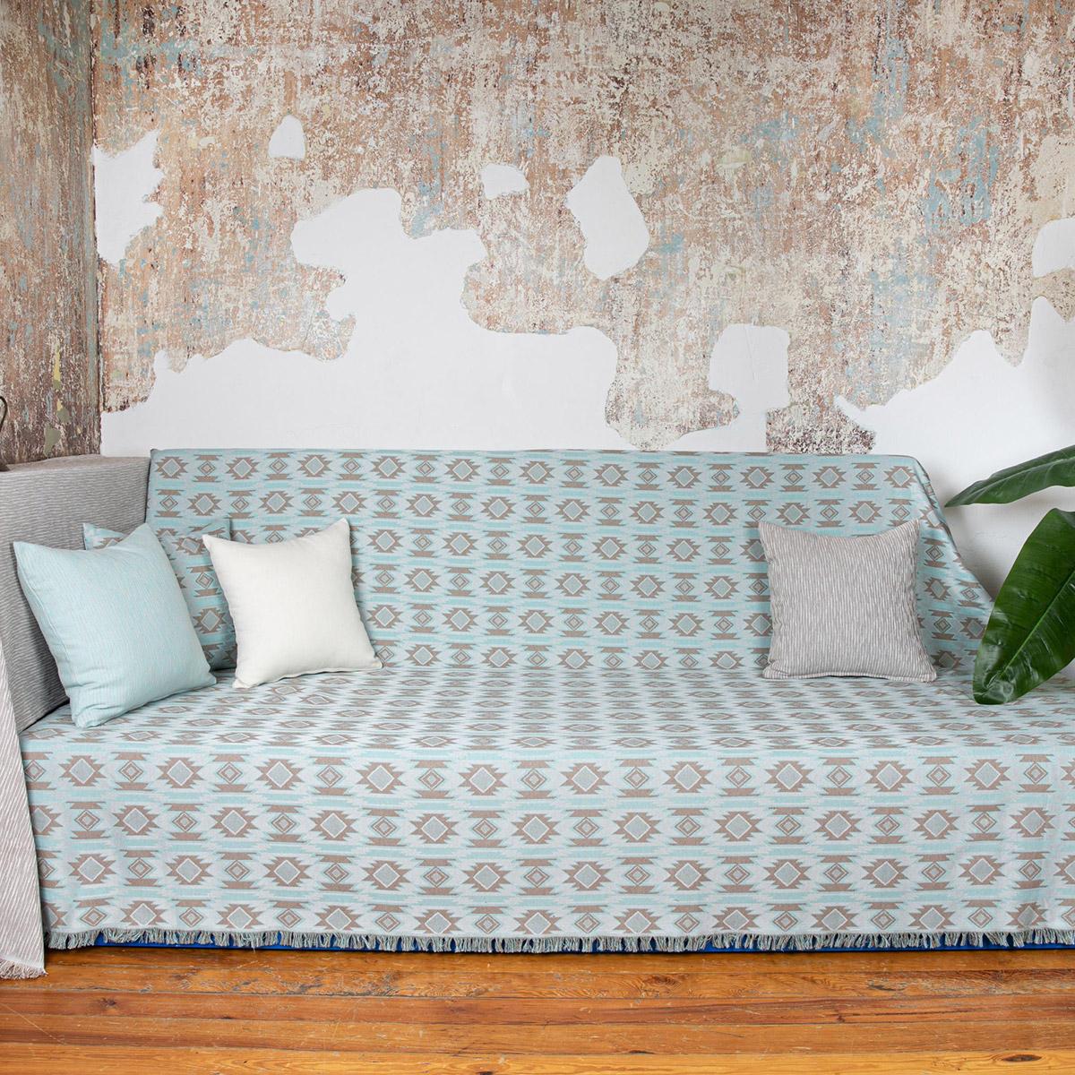 Ριχτάρι Τετραθέσιου (180×350) Loom To Room Harmonia Aqua