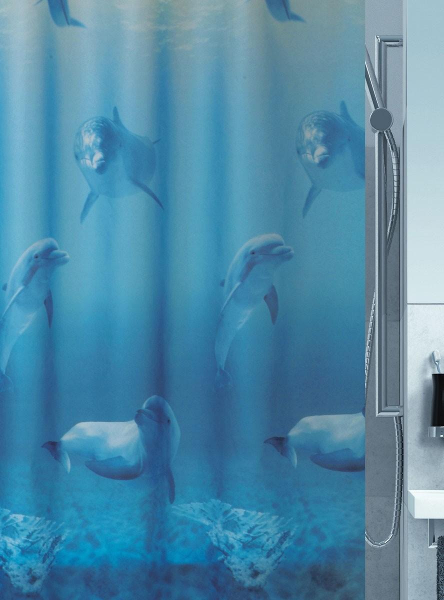 Οικολογική Κουρτίνα Μπάνιου Green Style Ocean 01030