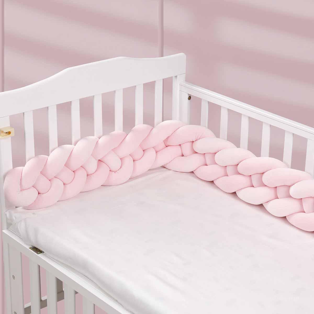 Πάντα Κούνιας – Πλεξούδα Palamaiki Tangle Pink