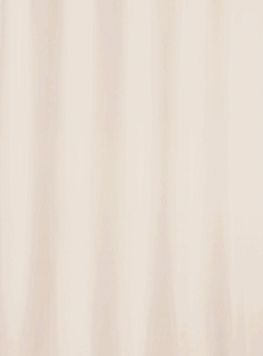 Κουρτίνα Μπάνιου Υφασμάτινη Rainbow Uni 02477 Εκρού