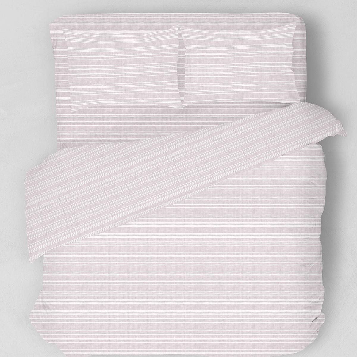 Σεντόνια Υπέρδιπλα (Σετ) Melinen Watercolour Lilac ΜΕ ΛΑΣΤΙΧΟ 160×200+32 ΜΕ ΛΑΣΤΙΧΟ 160×200+32