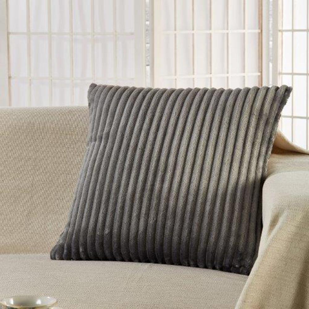 Διακοσμητική Μαξιλαροθήκη (45×45) Whitegg D069/2 Grey