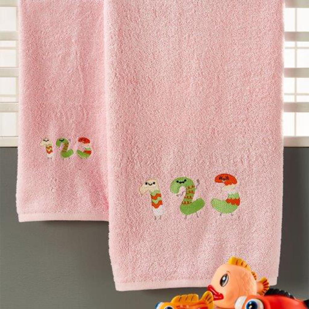 Παιδικές Πετσέτες (Σετ 3τμχ) Whitegg T027/1 Pink