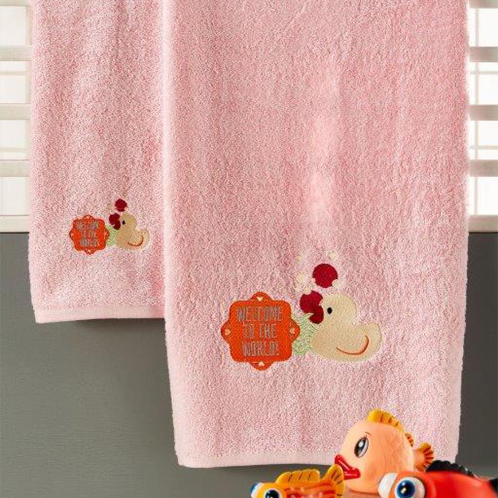 Παιδικές Πετσέτες (Σετ 3τμχ) Whitegg T028/1 Pink